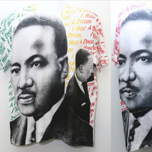 Other - 90's Vintage MARTIN LUTHER KING All-Over-Print Tee